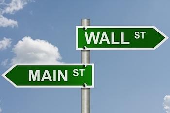 Main Street è sulla Terra, Wall Street sulla Luna